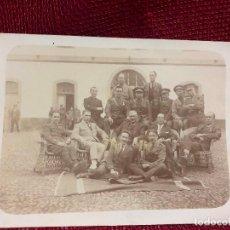 Militaria: ANTIGUA FOTOGRAFIA MILITARES SANTA CRUZ DE LA PALMA AÑO 1924. Lote 105840603