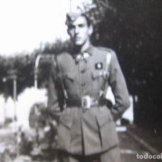 Militaria: REPRODUCCIÓN FOTOGRAFÍA ALFÉREZ PROVISIONAL DEL EJÉRCITO ESPAÑOL.. Lote 106595595
