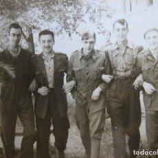 Militaria: FOTOGRAFÍA SOLDADO DEL EJÉRCITO ESPAÑOL. VETERANO DIVISIÓN AZUL. Lote 106596095