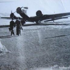 Militaria: FOTOGRAFÍA TRIMOTOR JUNKERS-52. IBERIA. Lote 106650707