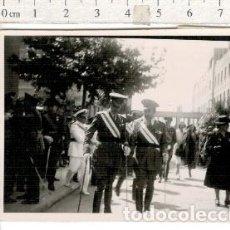 Militaria: FOTOGRAFÍA DE GENERALES BANDA MEDALLAS ETC.... MILITAR. Lote 107640747