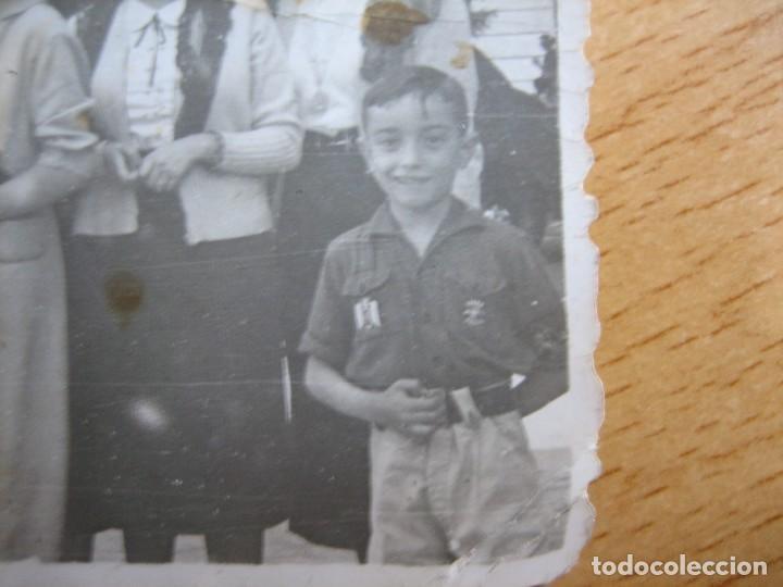 Militaria: Fotografía niño Frente Juventudes. - Foto 2 - 107788443