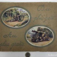 Militaria: BERGOUGNAN DU PLUS PETIT AU PLUS GRAND. Lote 107794139