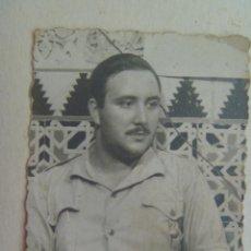 Militaria: GUERRA CIVIL : FOTO DE MILITAR DE ARTILLERIA . SEVILLA, 1937. Lote 107872963