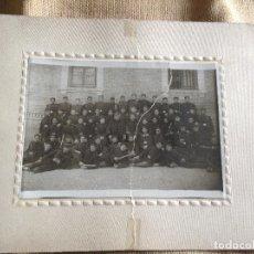 Militaria: FOTOGRAFIA DE MILITARES EPOCA ALFONSINA. Lote 107874847
