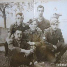 Militaria: FOTOGRAFÍA SOLDADO DIVISIÓN AZUL. HOSPITAL VISTA ALEGRE 1943. Lote 108344395