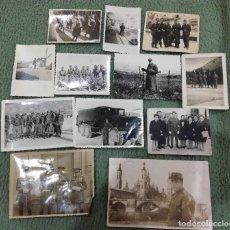 Militaria: LOTE DE 12 FOTOGRAFÍAS EJÉRCITO ESPAÑOL. Lote 108404099