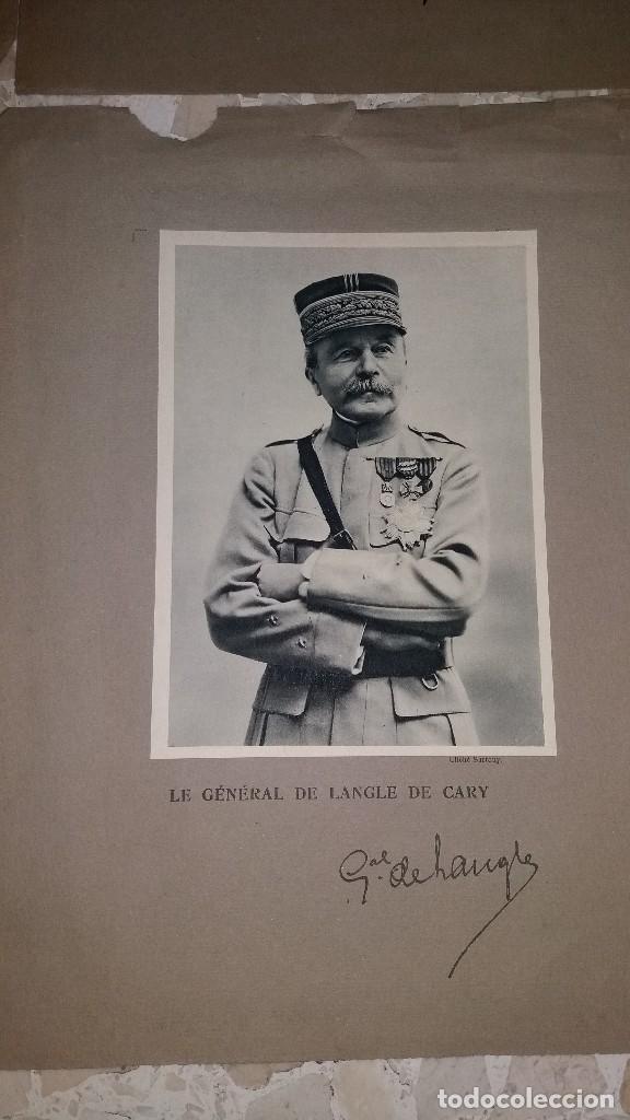 Militaria: LOTE LAMINAS FOTOGRAFICAS GENERALES FRANCESES, 1ª G.M. - Foto 4 - 108829019