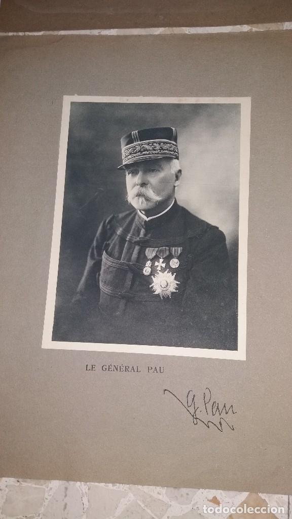 Militaria: LOTE LAMINAS FOTOGRAFICAS GENERALES FRANCESES, 1ª G.M. - Foto 5 - 108829019
