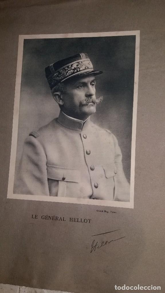 Militaria: LOTE LAMINAS FOTOGRAFICAS GENERALES FRANCESES, 1ª G.M. - Foto 6 - 108829019