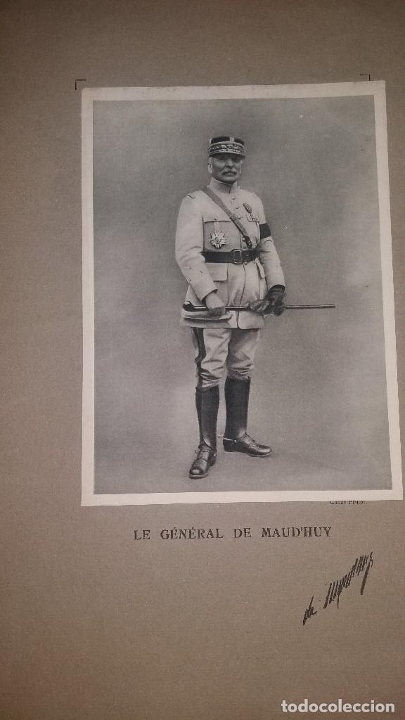 Militaria: LOTE LAMINAS FOTOGRAFICAS GENERALES FRANCESES, 1ª G.M. - Foto 7 - 108829019