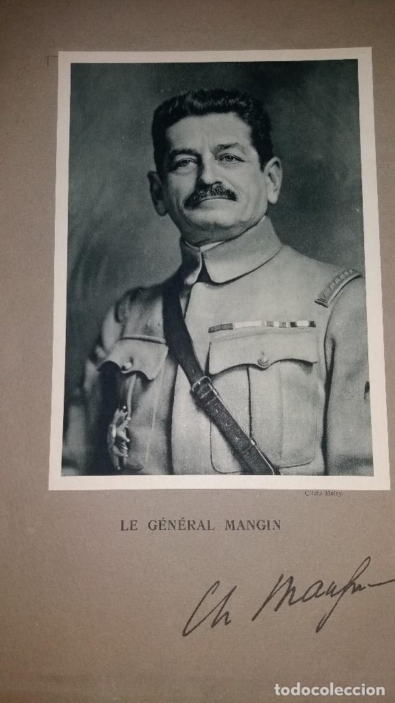 Militaria: LOTE LAMINAS FOTOGRAFICAS GENERALES FRANCESES, 1ª G.M. - Foto 8 - 108829019