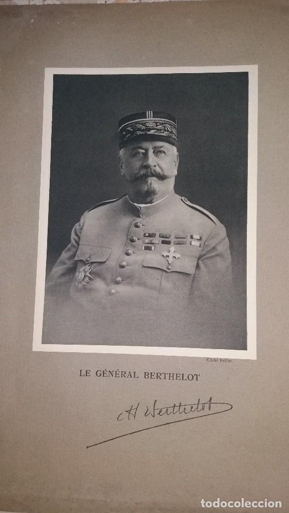 Militaria: LOTE LAMINAS FOTOGRAFICAS GENERALES FRANCESES, 1ª G.M. - Foto 9 - 108829019