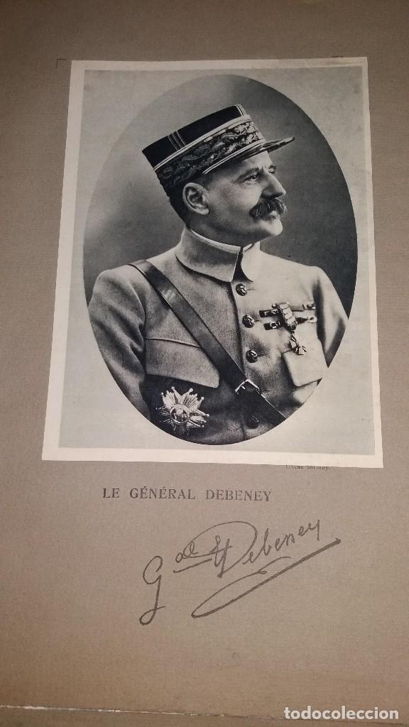 Militaria: LOTE LAMINAS FOTOGRAFICAS GENERALES FRANCESES, 1ª G.M. - Foto 10 - 108829019