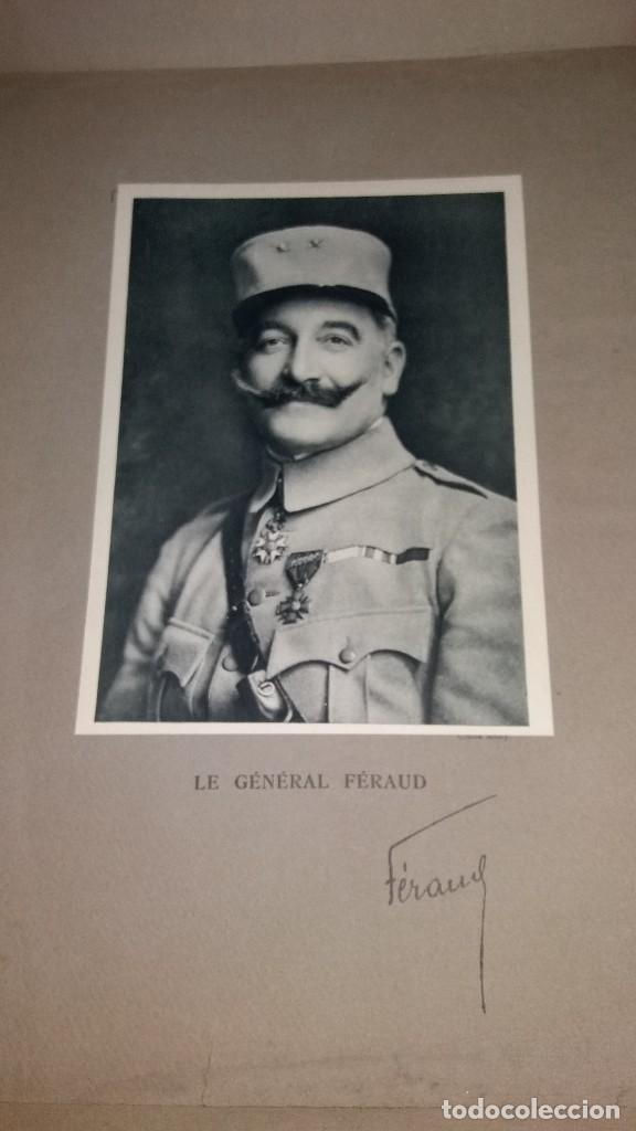 Militaria: LOTE LAMINAS FOTOGRAFICAS GENERALES FRANCESES, 1ª G.M. - Foto 11 - 108829019
