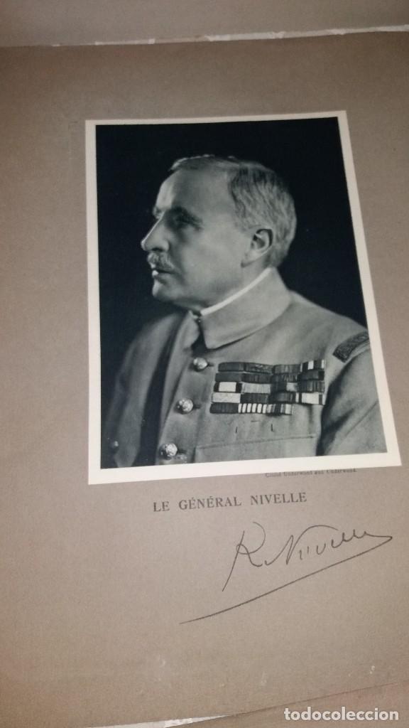 Militaria: LOTE LAMINAS FOTOGRAFICAS GENERALES FRANCESES, 1ª G.M. - Foto 12 - 108829019