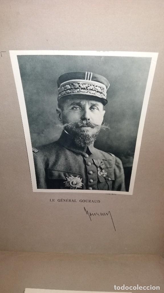 Militaria: LOTE LAMINAS FOTOGRAFICAS GENERALES FRANCESES, 1ª G.M. - Foto 13 - 108829019