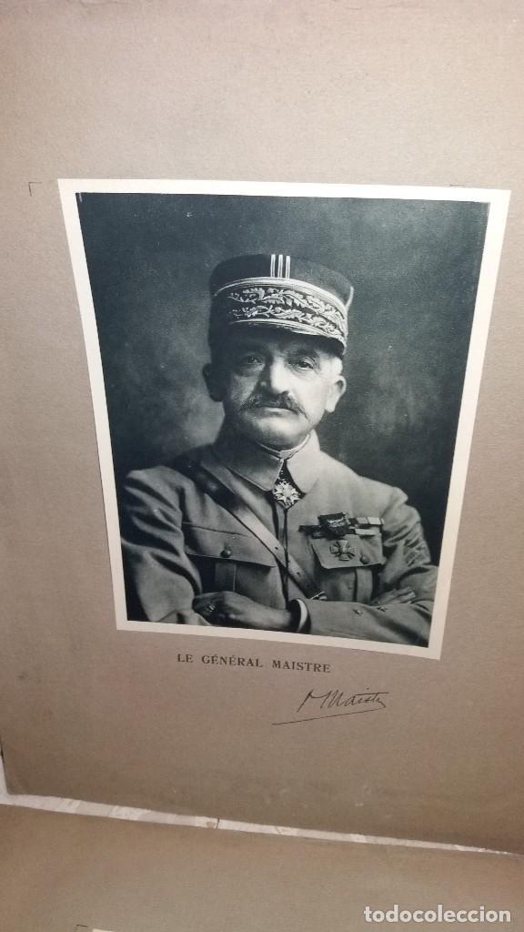 Militaria: LOTE LAMINAS FOTOGRAFICAS GENERALES FRANCESES, 1ª G.M. - Foto 14 - 108829019