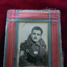 Militaria: FOTO FOTOGRAFIA DIVISION ACORAZADA BRUNETE HOYO MANZANARES 1955. Lote 109196731