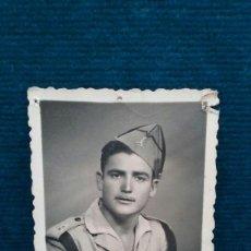Militaria: FOTOGRAFIA. LEGIONARIO. 1950 CEUTA.8,5 X 5,5 CM.. Lote 109204399