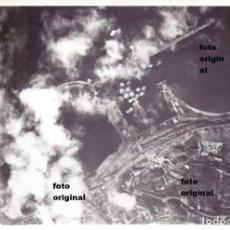 Militaria: BOMBARDEO AVIACION ITALIANA PUERTO BARCELONA GUERRA CIVIL. Lote 109236407