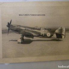 Militaria: DEWOITINE D.520 AVIÓN CAZA FOTO ORIGINAL SEGUNDA GUERRA MUNDIAL. Lote 109389323