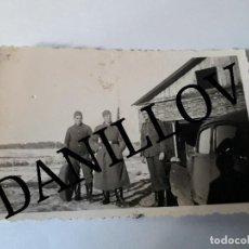 Militaria: SOLDADO DIVISIÓN AZUL Y ALEMANES FOTO ORIGINAL SEGUNDA GUERRA MUNDIAL. Lote 109446023