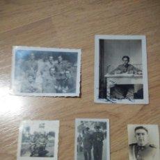 Militaria: LOTE DE FOTOGRAFIAS DEL MISMO GUARDIA CIVIL AÑOS 30-40, HAY MAS FOTOS HASTA TENIENTE CORONEL. Lote 109996131