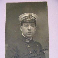 Militaria: FOTO DE UN MILITAR 1916. CARTAGENA MONTERA 44, MADRID.. Lote 110063527