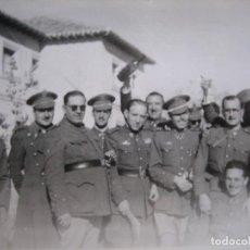 Militaria: FOTOGRAFÍA OFICIALES DEL EJÉRCITO ESPAÑOL. DIVISIÓN ACORAZADA BRUNETE. Lote 110150347