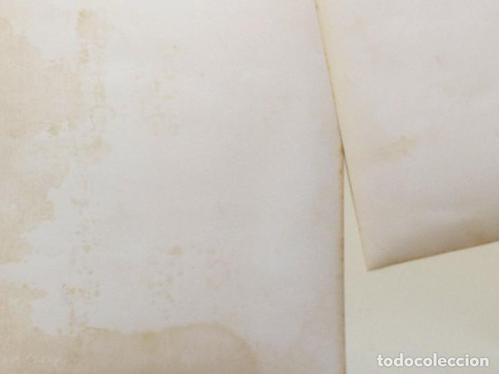 Militaria: FOTOGRAFÍAS DE UNA CARTA ESCRITA POR JOSE ANT PRIMO DE RIVERA DESDE LA CARCEL MODELO EL 20. 4. 36. - Foto 3 - 110313059
