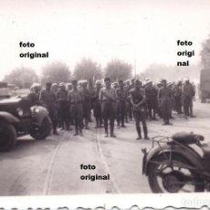 Militaria: FORMACION MORA EN LAS PUERTAS DE SANTANDER 1937 GUERRA CIVIL. Lote 110385495