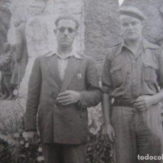 Militaria: FOTOGRAFÍA SOLDADO DEL EJÉRCITO NACIONAL. SANTANDER 1938. Lote 110495299