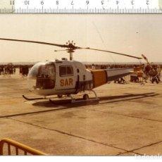 Militaria: FOTOGRAFIA DE HELICÓPTERO AGUSTA BELL 476 . Lote 110604075