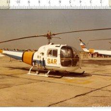 Militaria: FOTOGRAFIA DE HELICÓPTERO AGUSTA BELL 476-3. Lote 110604143