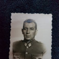 Militaria: FOTO CARNET CAPITAN INGENIEROS CARLOS SEVILLA. Lote 110826927