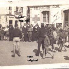 Militaria: REFUGIADOS REPUBLICANOS MARZO 1939 CARTAGENA(MURCIA) H.M.S. SIKH INGLES GUERRA CIVIL. Lote 111154307
