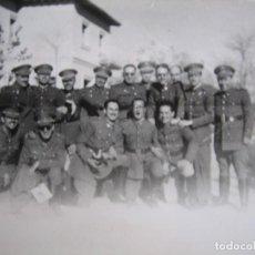 Militaria: FOTOGRAFÍA OFICIALES DEL EJÉRCITO ESPAÑOL. DIVISIÓN ACORAZADA BRUNETE. Lote 111447907