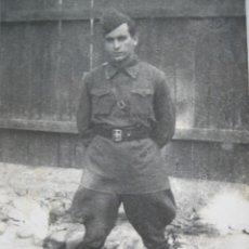 Militaria: FOTOGRAFÍA OFICIAL ESPAÑOL EJÉRCITO ROJO. AGOSTO 1938. Lote 111455691