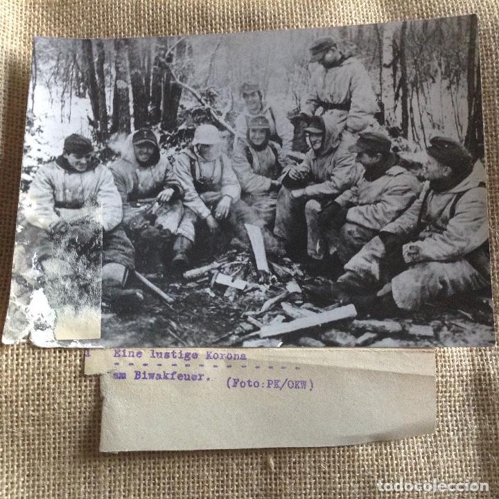 SOLDADOS ALEMANES 18X13 PROPAGANDA KOMPANIE (Militar - Fotografía Militar - II Guerra Mundial)