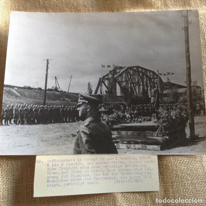 TROPAS ALEMANAS PK PROPAGANDA KOMPANIE 24X18 (Militar - Fotografía Militar - II Guerra Mundial)
