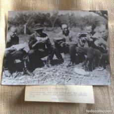 Militaria: SOLDADOS ALEMANES FOTO DE GRAN TAMAÑO 24X18. Lote 111750167