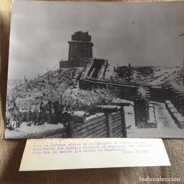 BLOCAO ALEMAN TRINCHERAS 24X18 (Militar - Fotografía Militar - II Guerra Mundial)