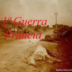 Militaria: PRIMERA GUERRA MUNDIAL - FRANCIA - POSITIVO DE VIDRIO . Lote 111783075