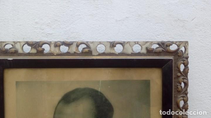 Militaria: Retrato enmarcado Jose Antonio Primo de Rivera - Foto 3 - 111894263