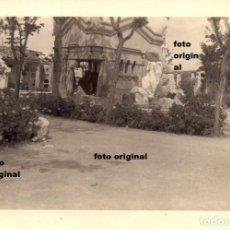 Militaria: DESTROZOS CEMENTERIO TERUEL 1938 GUERRA CIVIL LEGION CONDOR. Lote 111897851