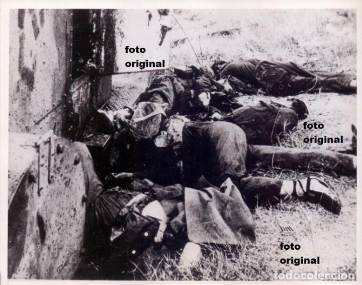 MILICIANOS BLINDADO AMETRALLADORA BILBAO 1932 CARRETERA TALAVERA-TOLEDO GUERRA CIVIL (Militar - Fotografía Militar - Guerra Civil Española)