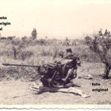 Militaria: MORO EN ZONA ARAGONESA AMETRALLADORA ARTILLERIA AERODROMO GUERRA CIVIL. Lote 112403067