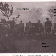 Militaria: ARTILLERIA NACIONAL CERCA DE VITORIA FOTO CEFERINO YANGUAS GUERRA CIVIL. Lote 112405511