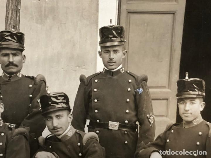 Militaria: fotografia militares gastadores zapadores infanteria alfonso XIII ppio S XX 27 x 16 cm - Foto 5 - 112522003